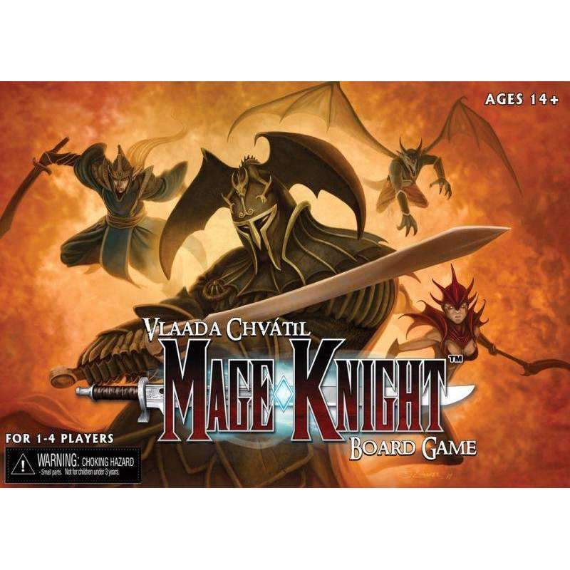The Mage Knight box cover.