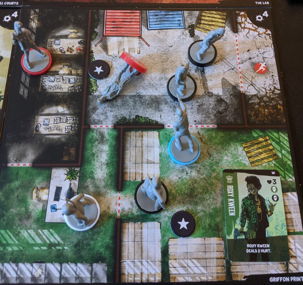 Vengeance board game