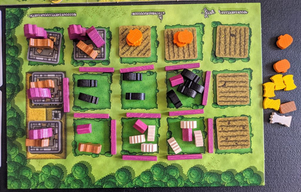 Agricola player board
