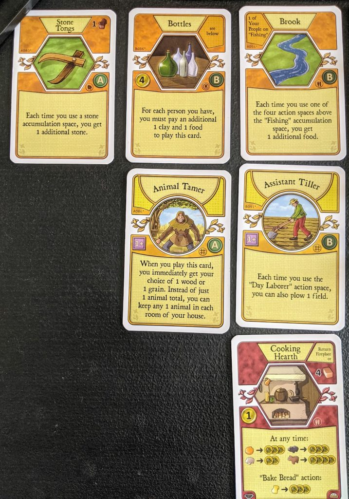 Agricola cards